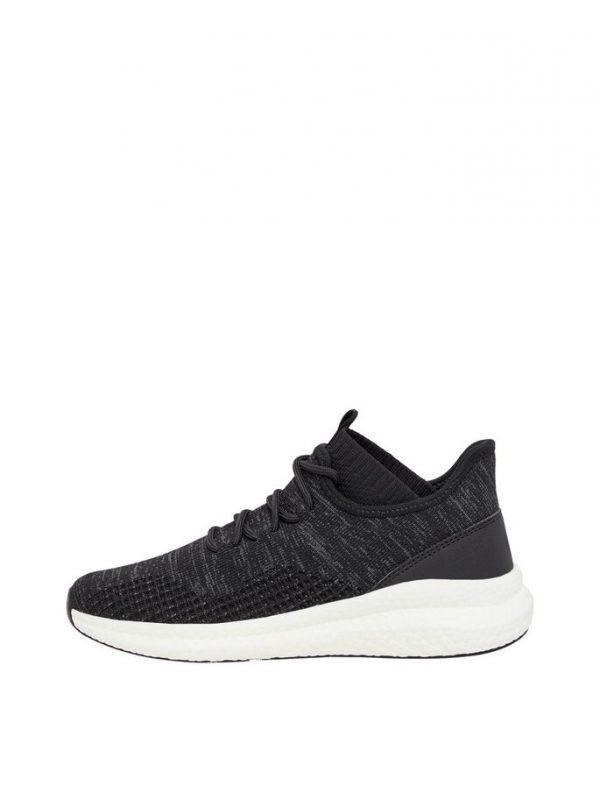 Bianco Biadelana Knit Sneakers Black