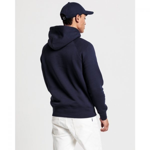 Gant Shield Sweat Hoodie Evening Blue