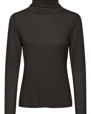 Part Two Efinas Rollneck T-shirt Black