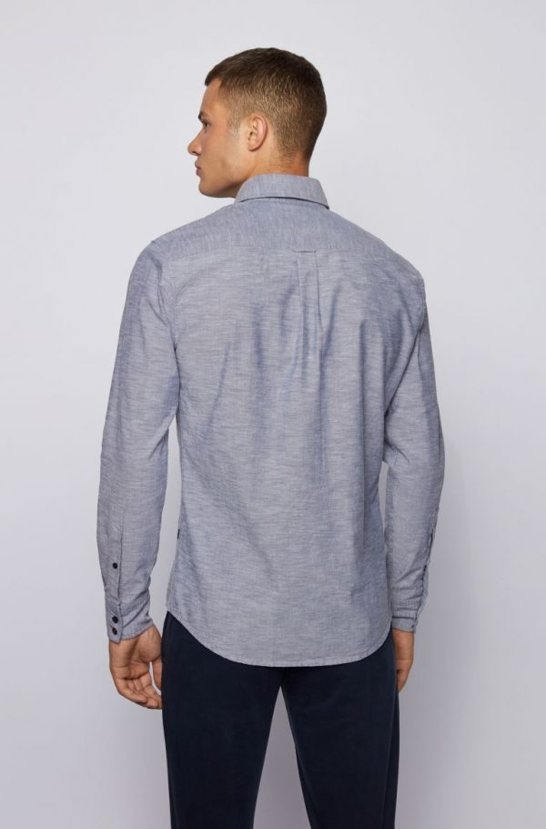 Hugo Boss Mabsoot_1 Shirt Dark Blue
