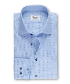Stenströms Shirt Fitted Body Blue