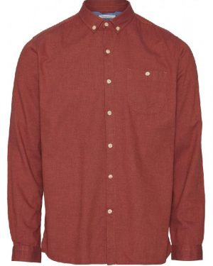 Knowledge Cotton Apparel Elder Shirt Fig