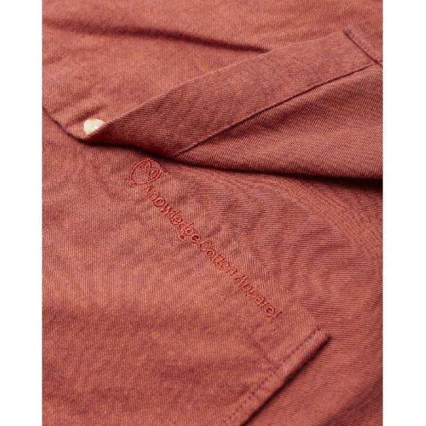 Knowledge Cotton Apparel Elder Shirt Fig