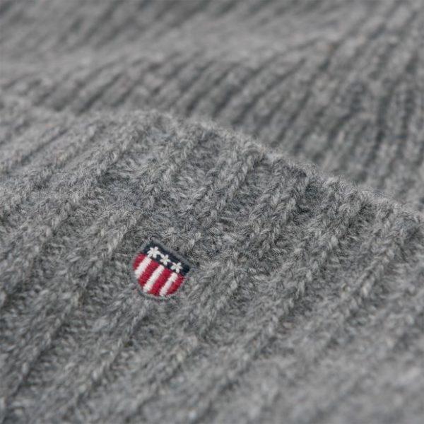 Gant Wool Lined Geanie Dark Grey Melange