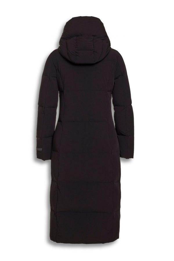 Beaumont Bi-Stretch Long Coat Black