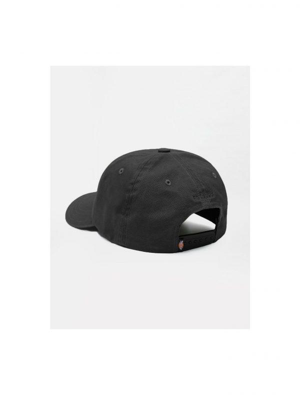 Dickies 6 Panel Logo Cap Black