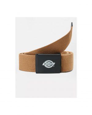 Dickies Orcutt Logo Buckle Belt Brown
