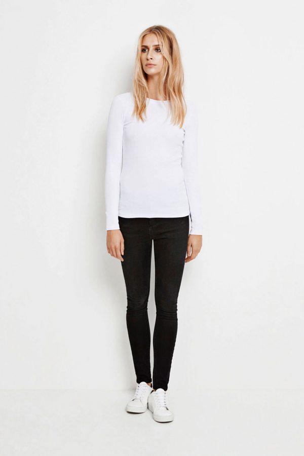 Samsoe & Samsoe Alexa Ls T-shirt White