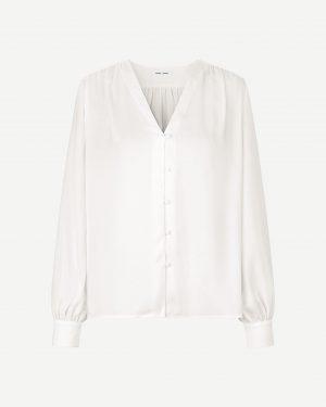 Samsoe & Samsoe Jetta Shirt Whisper White