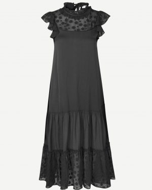 Samsoe & Samsoe Opala Long Dress Black
