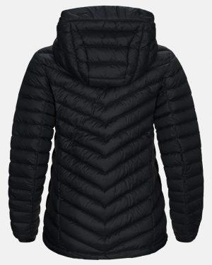 Peak Performance Frost Down Hood Jacket Women Black