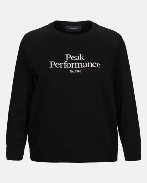 Peak Performance Original Crew Women Black