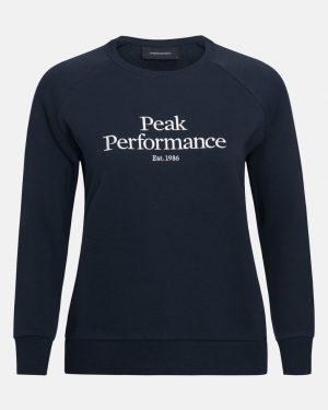 Peak Performace Original Crew Women Blue Shadow