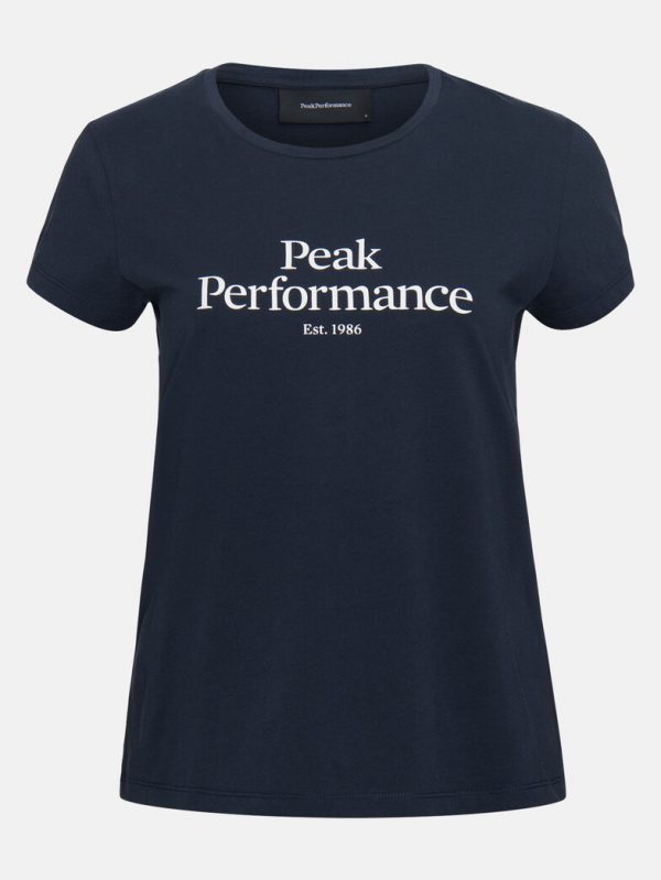 Peak Performance Original T-shirt Women Blue Shadow