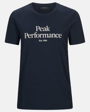 Peak Performance Original Tee Men Blue Shadow