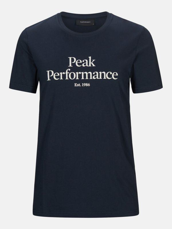Peak Performance Original Tee Men Blue Shadow