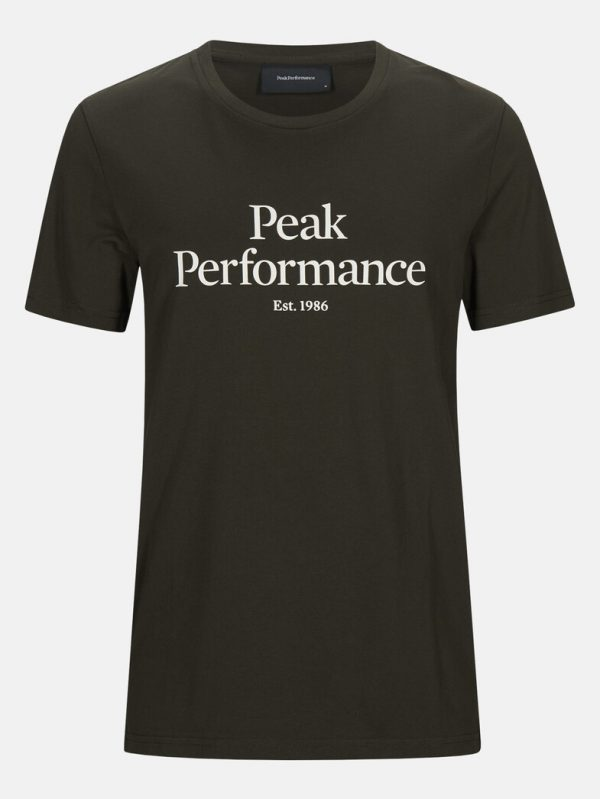 Peak Performance Original Tee Men Coniferous Green