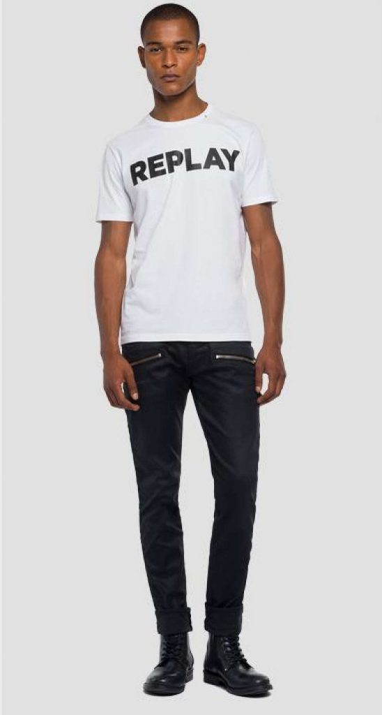 Reply Logo T-shirt White