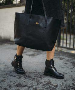 Pura Leather Bag Black