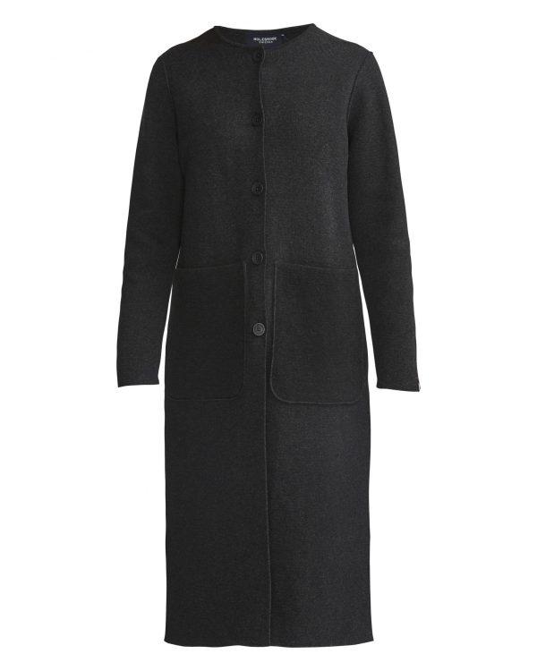 Holebrook Norma Coat Black Melange