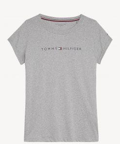 Tommy Hilfiger Underwear Logo Cotton T-shirt Grey Heather
