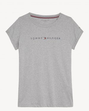 Tommy Hilfiger Underwear Logo Cotton T-shirt Grey Heather