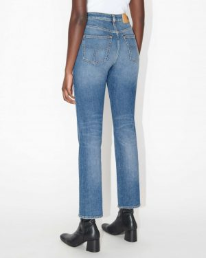 "Tiger Jeans Meg Jeans ""Point"" Medium Blue"