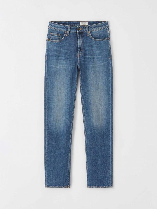 "Tiger Jeans Meg Jeans ""Point"" Medium Blue"