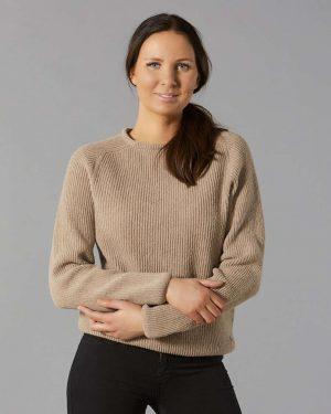 Pura Warm Short Knit Beige