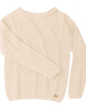 Pura Warm Short Knit Light beige