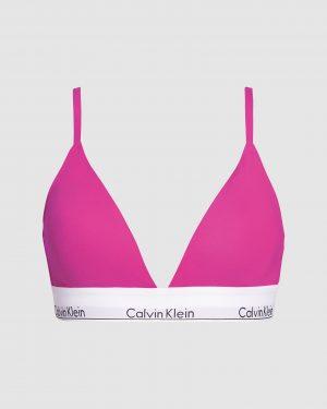 Calvin Klein Triangle Bra Bright Magenta