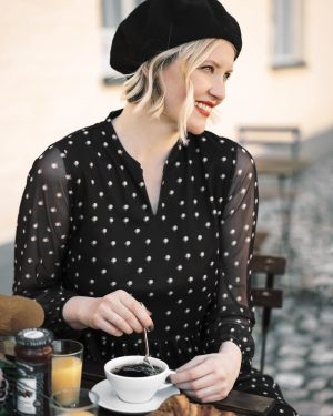 STI Cora Dress Black
