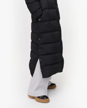 Marimekko Arnikki Solid Coat Black