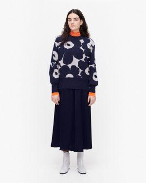 Marimekko Kietoa Unikko Pullover Blue