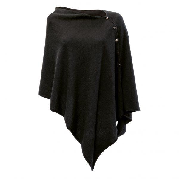 Balmuir Bmuir Lausanne Poncho Black