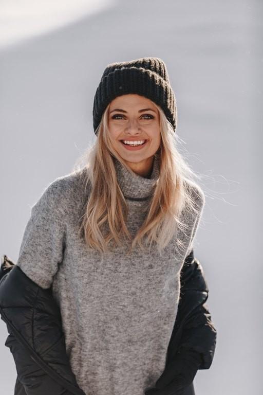 Balmuir Grazia Highneck Tunic Grey