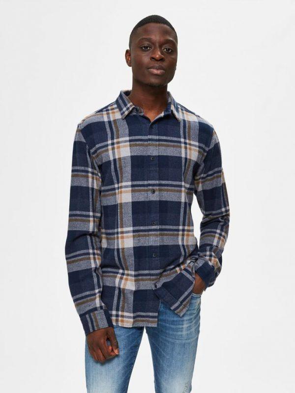 Selected Homme Gunnar Shirt Burro
