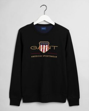 Gant Archive Shield C-Neck Black