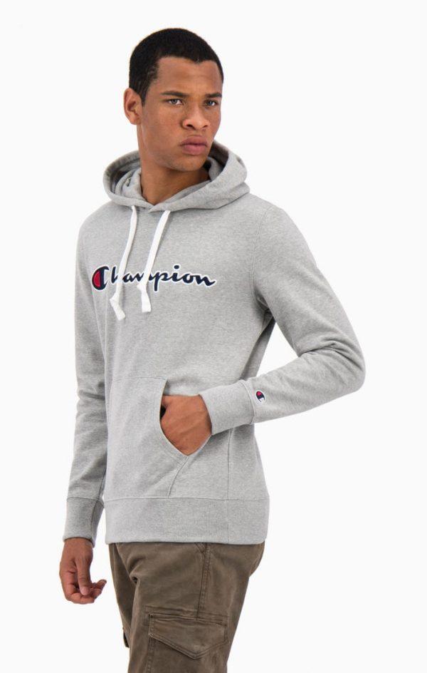Champion Hooded Sweatshirt Grey