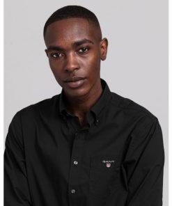 Gant Broadcloth Shirt Black