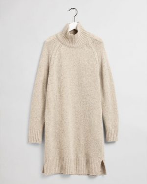 Gant Neps Knitted Dress Manila Melange