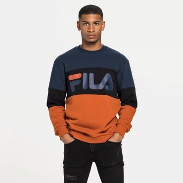 Fila Straight Blocked Crew Orange