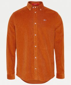 Tommy Jeans Corduroy Shirt Burned Caramel