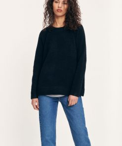 Samsoe&Samsoe Nor O-neck Long Black