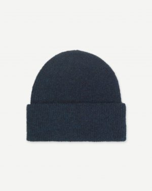 Samsoe&Samsoe Nor Hat Dark Blue Melange