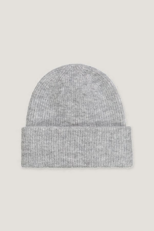 Samsoe&Samsoe Nor Hat Grey Melange