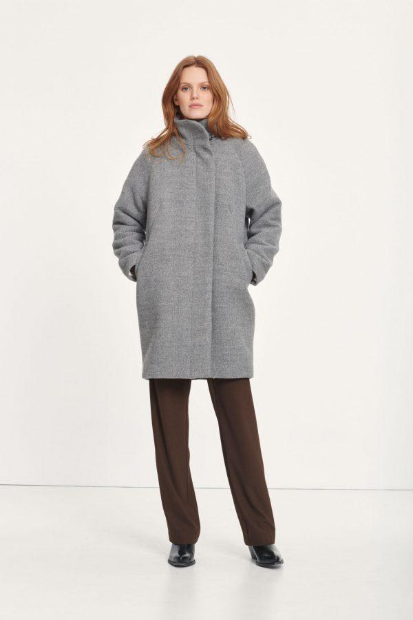 Samsoe & Samsoe Hoffa Jacket Light Grey Melange