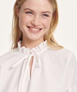 Samsoe & Samsoe Maia Shirt White