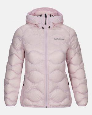 Peak Performance Helium Hood Jacket Women Cold Blush