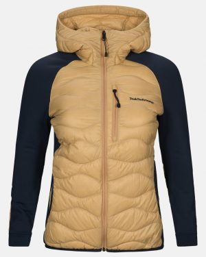 Peak Performance Helium Hybrid Jacket Women Beige No.2